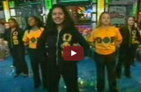 Soul Steppin' Divas on MTV's TRL