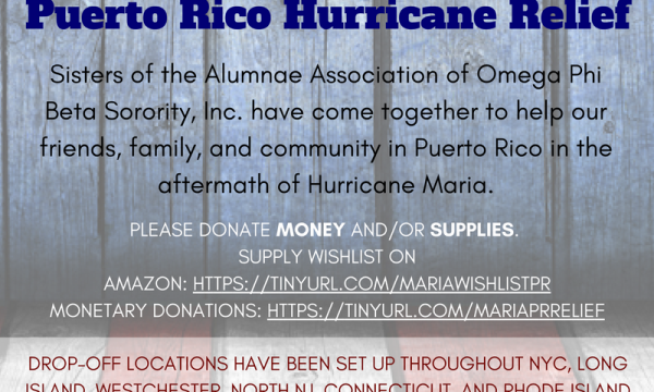 Alumnae of OPB Come Together for Puerto Rico Hurricane Relief